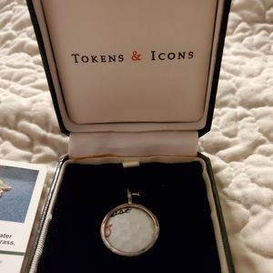 Tokens & Icons Sterling Silver TPC Sawgrass Charm